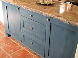 blue painted kitchen cabinets. Blue Kitchen Cabinets Ideas Painted