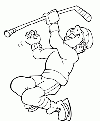 Small Picture Get This Online Hockey Coloring Pages 17433