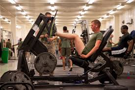 u s department of defense photo essay  u s marines and sailors work out on different exercise machines in the fitness center on camp leatherneck in helmand province 28 2013