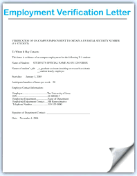 Job Letter From Employer Confirming Employment Sample Salary Confirmation Letter From Verification For Employment