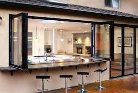 glass garage door in kitchen. Wonderful Glass Kitchen Garage Door Precision Window Springs Modern For  Style Glass Throughout In