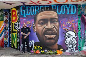 George Floyd mural honors victims ...