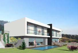 Modern Semi Detached House Design Modern T3 New House Semi Detached Of 170 M2 On 310 M2 Of
