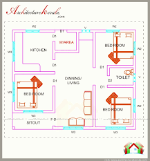 floor plan 3 bedroom house kerala bhk house plans in kerala new square bedroom firs on