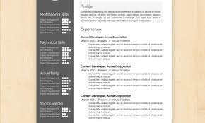 Resume Wonderful Resume Design Templates 11 Minimal Cv Template