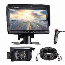 Waterproof Backup Camera Monitor Kit For Truck Rv Trailer Bus Van ...