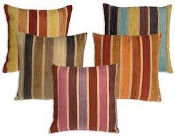chenille throw pillows. Plain Pillows Savannah Stripes 20x20 Chenille Throw Pillows Intended