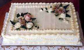 Wedding Accessories Ideas Sheet Cakes Decorated With Flowers Cake