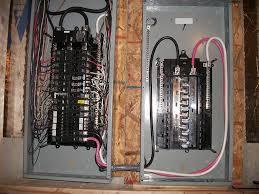 secondary sub panel wiring