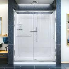 astounding single sliding shower door infinity z sliding shower door in x in sliding frameless shower