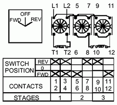 3 phase reversing drum switch wiring diagram wiring diagram reversing switch for ac motor electrician talk professional