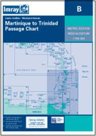 Imray Charts Caribbean Imray B Martinique To Trinidad Passage Chart Nautical Bookshop Nautic Way