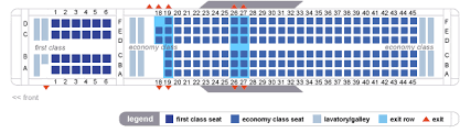 delta airlines boeing 757 200 seating map aircraft chart