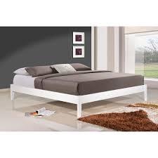 queen wood platform bed.  Queen Altozzo Manhattan Queen Wood Platform Bed In