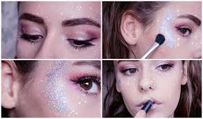 8 galactic glitter makeup