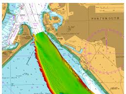 Marine Chart Portsmouth Harbour Ukho Supports Safe Arrival Of Hms Queen Elizabeth Into