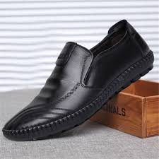 <b>Spring</b> Fall Leather Shoes New <b>Mens</b> Fashion Casual Shoes ...