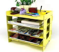 wooden office storage. Desk File Letter Trays Storage Cabinet Box A4 Size (Yellow S) Wooden Office A