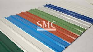 prepainted corrugated galvanized steel sheet roofing sheet for composite panel