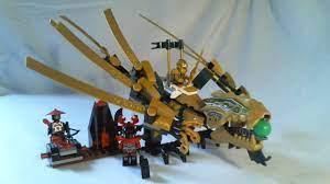 LEGO Ninjago Video Review : The Golden Dragon [Français] - YouTube