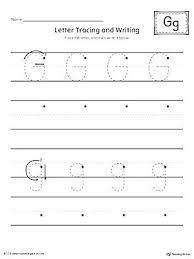 Kindergarten Writing Pages Letter G Worksheet Writing Big Image L For Preschoolers Worksheets