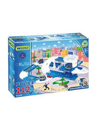Игровой <b>набор WADER</b> 53320 Kid Cars 3D <b>полиция</b>