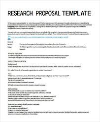 Research Proposal Template Classy 48 Project Proposal Templates Examples In Word PDF Sample Templates