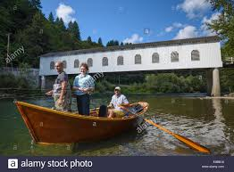 drift boat fishing on the mckenzie river at goodpasture bridge with guide greg hatten and wooden boat adventures lane county o