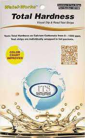 Water Test Color Chart Hardness Total 30 Ind Pks 1 Color Chart
