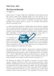 Mba personal statement pdf