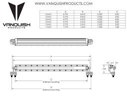 rigid industries logo vector. vanquish vps06755 rigid industries led light bar b black by logo vector n
