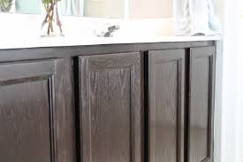 Gallery Of Staining Bathroom Cabinets