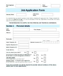 job application form template employment application form template uk restaurant application