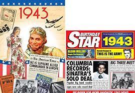 Amazon Com 1943 Birthday Gifts Pack 1943 Dvd Film 1943