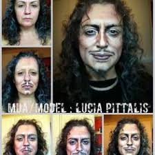 makeup artist s amazing celebrity transformations fixyourfaces source an artist transforms herself into male characters with makeup