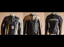 womens motorcycle jackets never worn triumph and honda