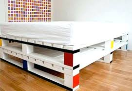 pallets bed diy pallet bed popular pallet bed diy instructions