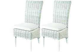 rattan dining room chair furniture rattan dining room chairs home and garden whitewashed wicker dining chairs