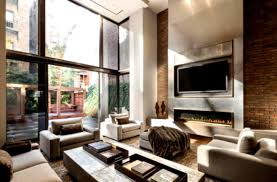 Sloped Ceiling Living Room Living Room Small Living Room Ideas With Brick Fireplace Tray