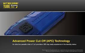 <b>NITECORE TUBE</b> v2 55 Lumen Rechargeable <b>Keychain</b> Flashlight