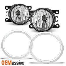 2012 Honda Pilot Fog Light Lens Replacement Fit 2012 2013 2014 2015 Honda Pilot Glass Lens Bumper Fog Lights W Switch Bulbs