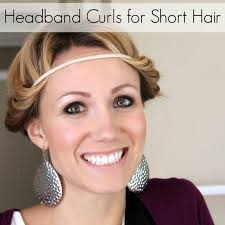 heatless curls for short hair tips