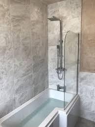 Small L Shaped Bathroom Design Advantages Of An L Shaped Bath Rwm Plumbing And Gas