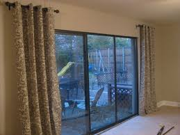 plain sliding patio door ds ideas sliding glass decor girls curtains thermal lined for doors on window coverings