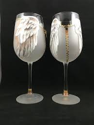 skeleton wine glass 138 best painted wine glasses images on