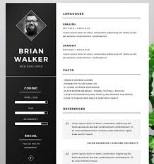 Illustrator Resume Templates Interesting 28 New Fashion Resume CV Templates For Free Download 28 Web