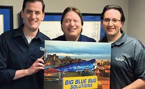 Big Blue Bug Solutions Big Blue Bug Becomes Brilliant Branding Idea Pest Management