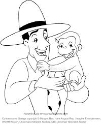 Disegno Di George E Luomo Dal Cappello Giallo Curioso Come George