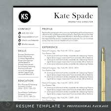 Free Contemporary Resume Templates Free Modern Resume Design ...