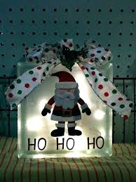 glass decorative blocks craft in bulk block decorations lighted ideas with lights ornaments glass blocks
